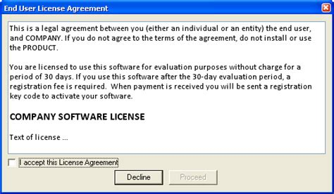 Make Your File Ready To Distribution End User License Agreement Template