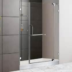 Dreamline allure frameless pivot shower door