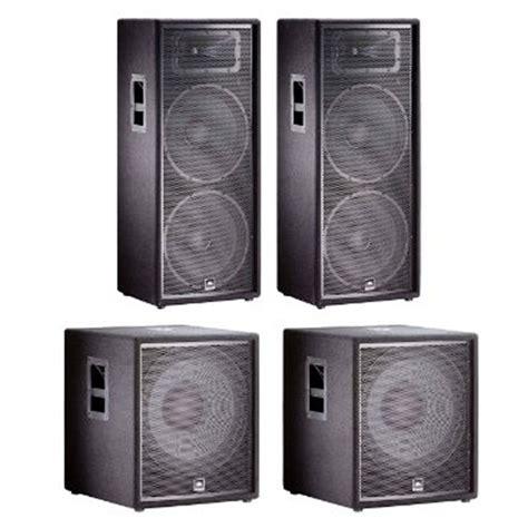 Speaker Jbl Jrx 225 jbl jrx dj pa audio speaker system 2x jrx225 jrx218s new