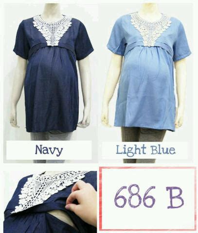 Dress Katun Denim dress bahan katun denim ibuhamil