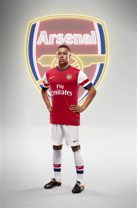 Arsenal Home Season nike football unveils arsenal home kit for season 2012 13