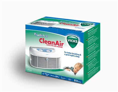vicks hepa type air purifier at 163 52 99
