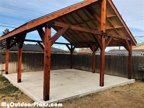 diy  pavilion myoutdoorplans  woodworking