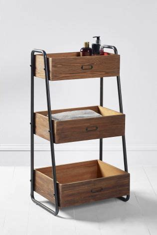 next bathroom caddy buy hudson tiered caddy from the next uk online shop