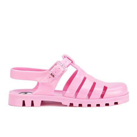 Shoes Jelly Polos juju s maxi jelly sandals flamingo free uk