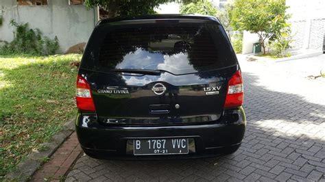 Grand Livina Xv At 2008 Black jual cepat bu 2008 nissan grand livina 1 5 xv a t black