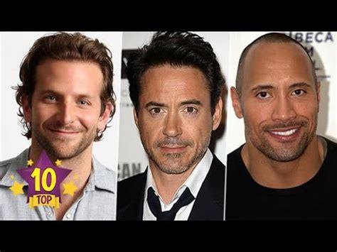 atores mais importantes de hollywood top 10 atores mais bem pagos de cinema top 10 2 youtube