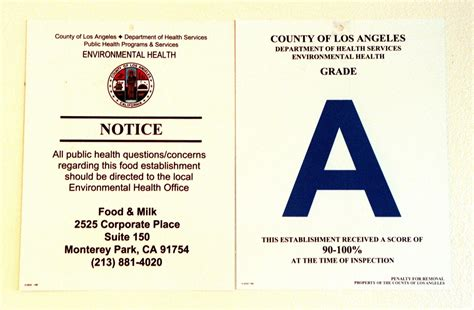 Apartment Health Inspection Los Angeles Orange County Considering Color Coded System For