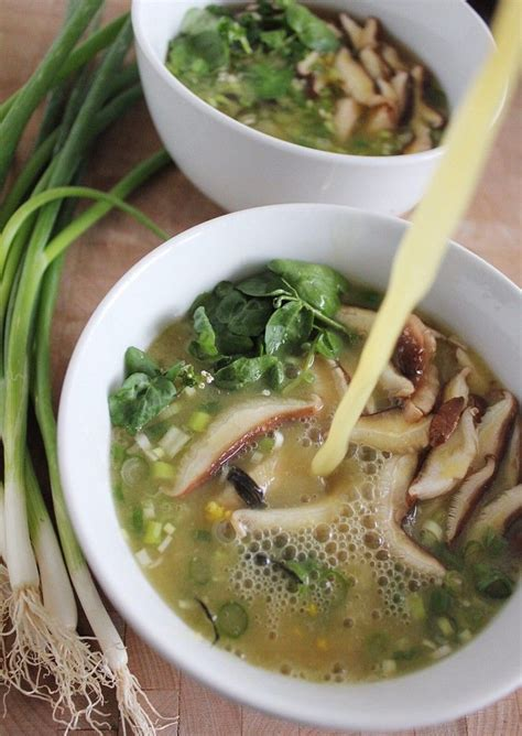 Thyroid Detox Soup by Mineral Rich Vegetable Broth With Seaweeds Food