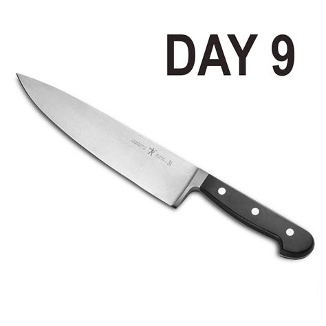 professional kitchen knives day 9 zwilling professional chef s knife 6 12 days of giveaway nomss
