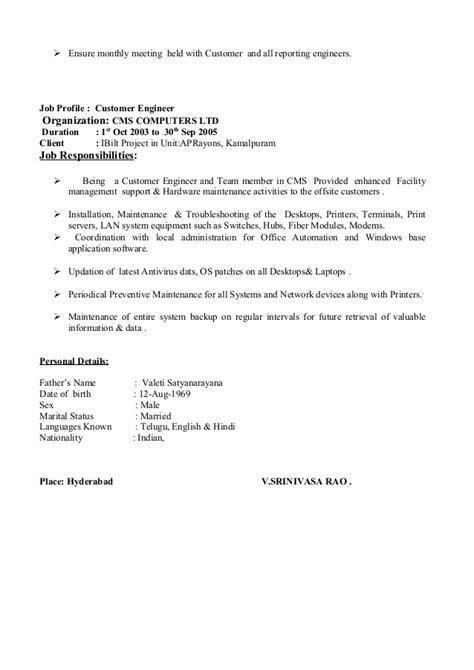 cms resume resume ideas