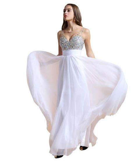 31335 White V Neck Roses S M Dress 98 best prom dresses prom gowns images on prom dresses beautiful gowns and prom