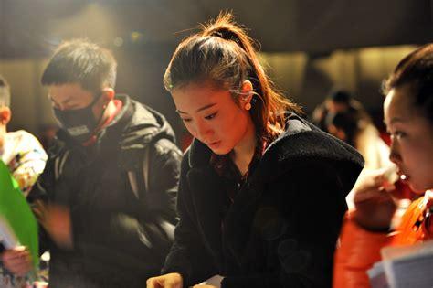 beijing film academy china beauties at beijing film academy enrollment site people