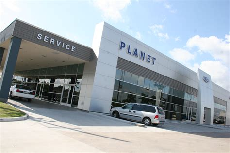 Planet Ford by Planet Ford Reveals Ford Showroom Service Drive Planet