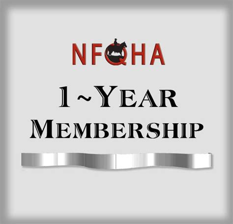 1 Year Membership membership 1 year foundation quarter association nfqha