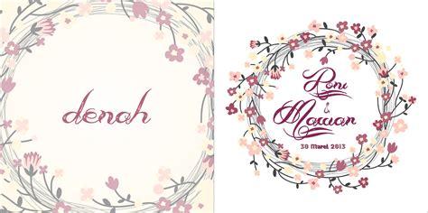 desain undangan vintage mataroni jasa desain undangan pernikahan
