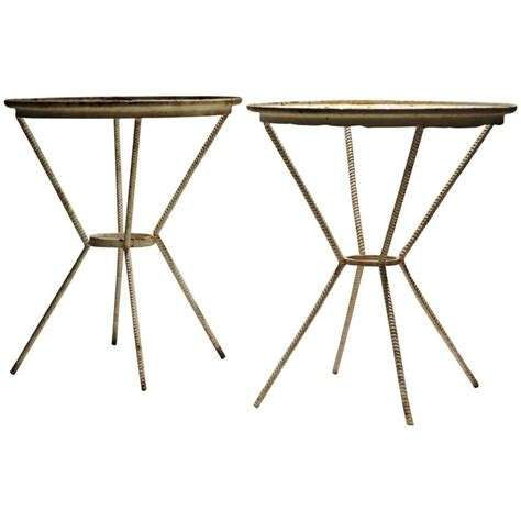mid 20th century x base iron rebar tables at 1stdibs