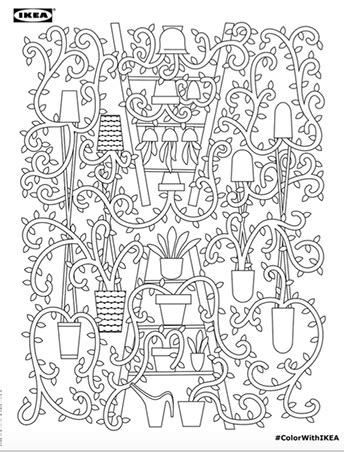 coloring book hashtags the ikea coloring book for free rl