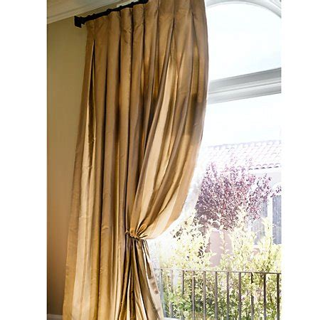 inverted box pleat drapes high street market designer tip inverted box pleat drapery