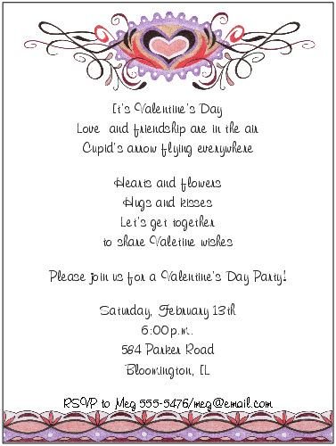 valentine dinner invitations wording shop our store