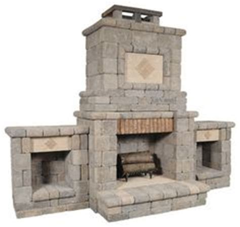 general shale fireplace kit this outdoor fireplace kit from general shale was part of