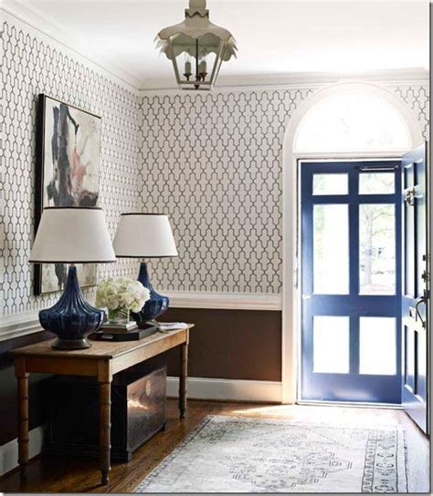 Brown Wainscoting by Feature Friday House Beautiful 1940 S Cottage Update