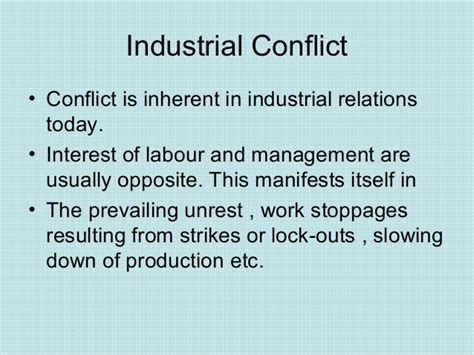 Industrial Relations And Labour Laws Mba Notes by Industrial And Labour Laws Comprehensive