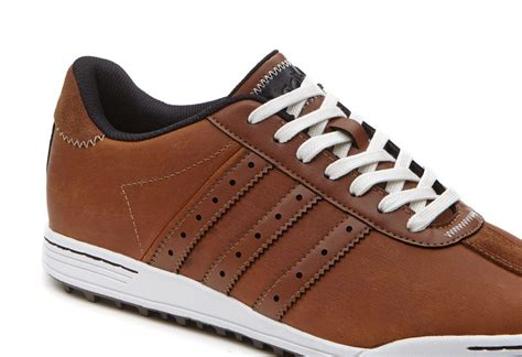 adidas adicross classic golf shoes brown white discount prices for golf equipment