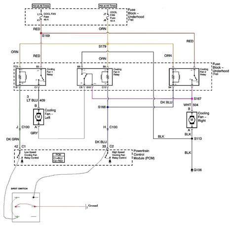 nelson performance dual electric fan relay wiring diagram