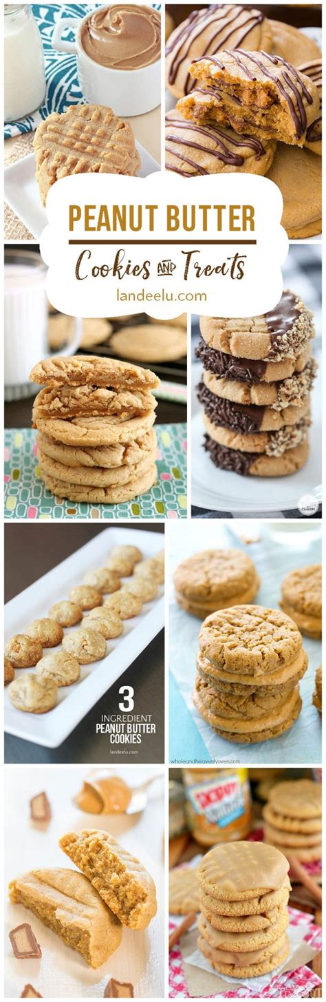 20 delicious peanut butter cookie recipes and treats