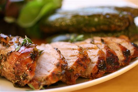 gingerly roast pork with thyme french revolution
