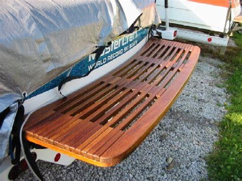 fiberglas swim platforms for boats fiberglass vs teak swim platform page 2 teamtalk