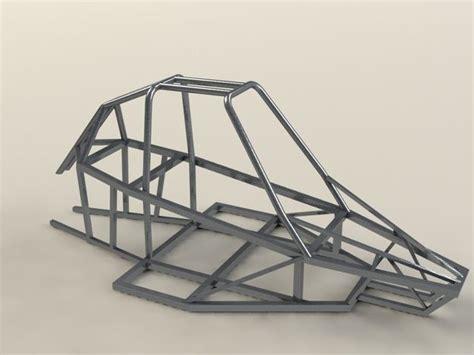 design buggy frame buggy piranha 2 frame solidworks stl other 3d cad