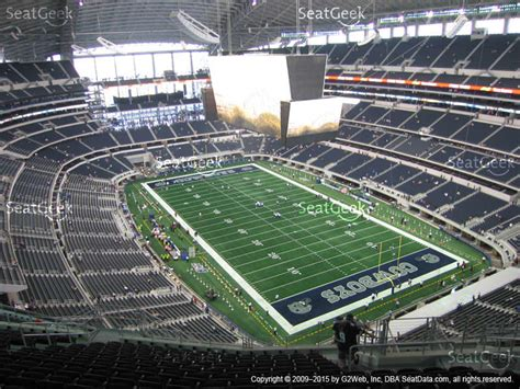 att stadium view from seats 435 or 428 html autos post