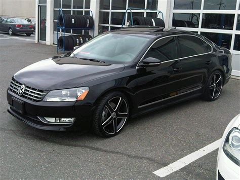 white volkswagen passat black rims volkswagen passat wheel and tire packages