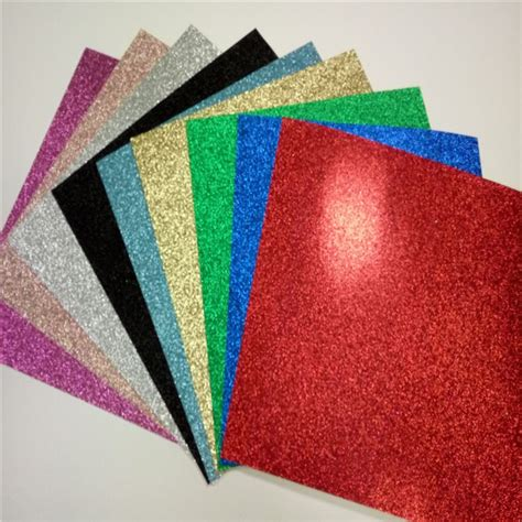Glitter Paper For Card - cardstock card color high quality card stock paper glitter