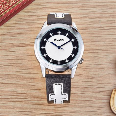 2016 stylish kezzi brand casual watches fashion