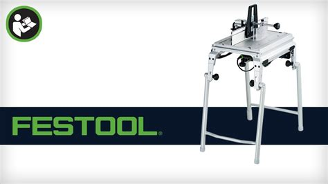 festool router table setup festool cms router table getting started setup