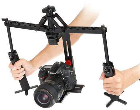 Tripod Untuk Dslr Canon handheld stabilizer rig gimbal 2 axis for dslr