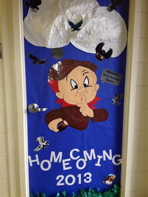 Homecoming Door Decorating Ideas by Homecoming Door Decoration Bulletin Board Go Greyhounds