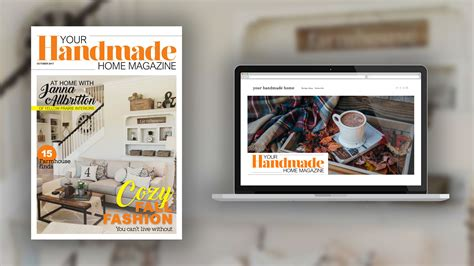 Handmade Home Magazine - your handmade home magazine magazinelaunch