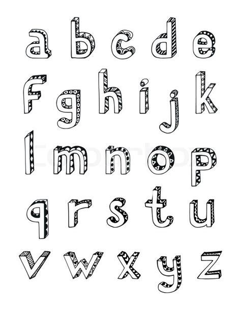 si鑒e タ 钁e 3 lettres skizzieren sie kleine buchstaben vektorgrafik colourbox