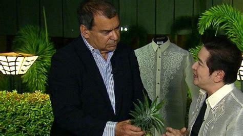 Hoodie Barong Family Hitam Merch how the designer of the barong tagalog creates his pineapple fiber shirts abc news