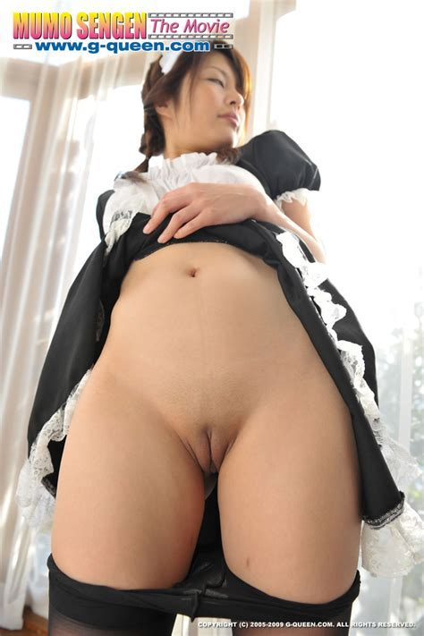 Tomoko Naoe Demonstrates Her Shaved Asian Pussy