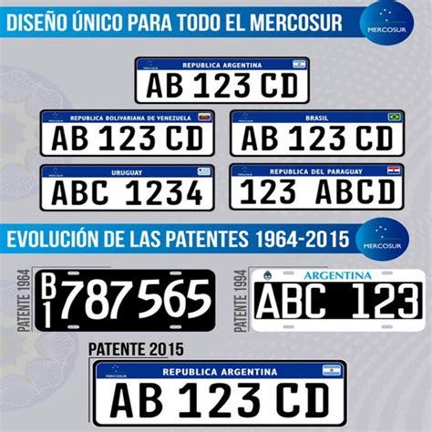 valores patentes de automoviles 2016 desde 2016 nuevas patentes en argentina cronicas fueguinas