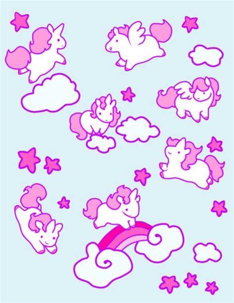 unicorn pattern wallpaper unicorn pattern wallpapers kawaii pinterest patrones