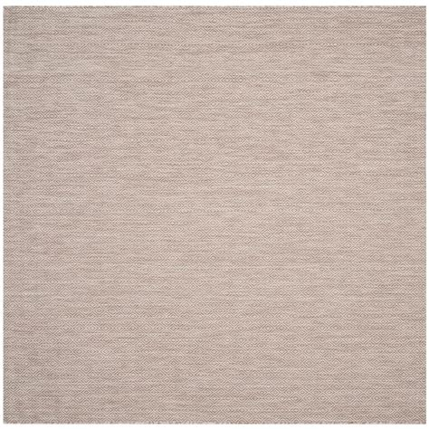 square indoor outdoor rugs safavieh courtyard beige 7 ft x 7 ft indoor outdoor