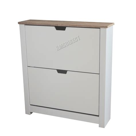shoe storage white cabinet foxhunter wooden shoe storage cabinet drawer footwear