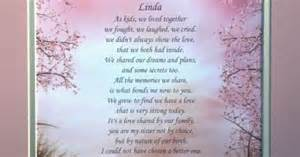 sister personalized poem birthday christmas gift idea poem sister poem and friendship quotes