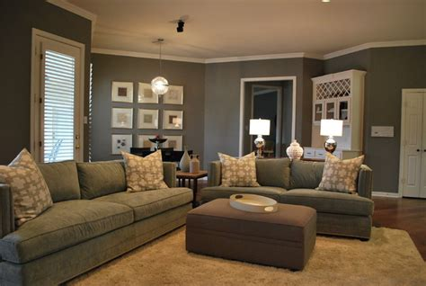 modern family living space in grey modern family room atlanta by lilli design